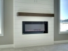 The Trend Setter - Lower Level Fireplace