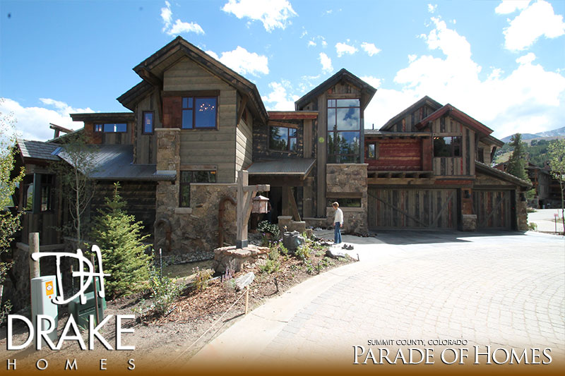 The colorado crusade drake homes for Summit county home builders